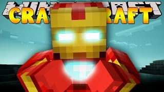 Minecraft Crazy Craft 3.0 : IRON MAN TREEHOUSE!! #52