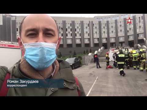 Пять человек погибли при пожаре в больнице в Петербурге