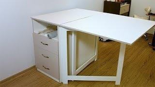 видео Швейный стол | Как выбрать стол для швейной машины