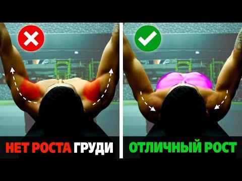 Как накачать грудь в жиме лежа. 2 лучших совета