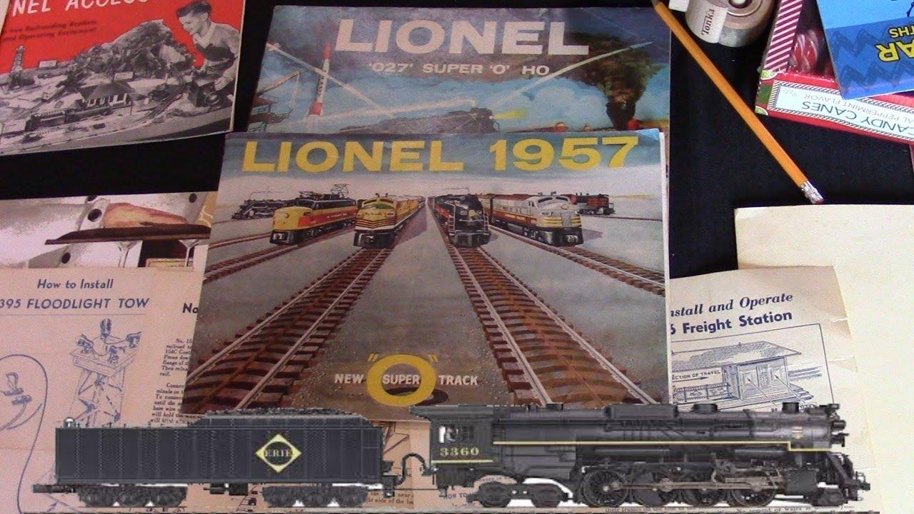 Lionel 1950's large Model Train Christmas set up O Gauge