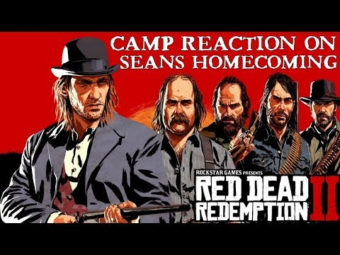 Camp Reaction on Saving Sean | Red Dead Redemption 2 thumbnail
