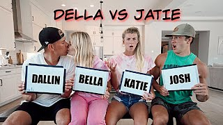 Married Vs Engaged Couple Game *JATIE VS DELLA*