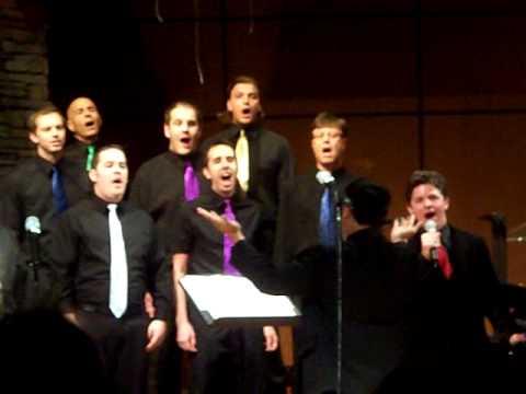 "New Las Vegas Men's Choir ""Bridge Over Trouble Water"""