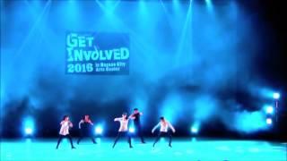 jazz dance チームのDANCE TIPS 市民芸術館でのステージの様子...