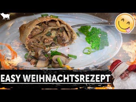 Rezept: DER BESTE WEIHNACHTSSTRUDEL | einfach, lecker & vegan
