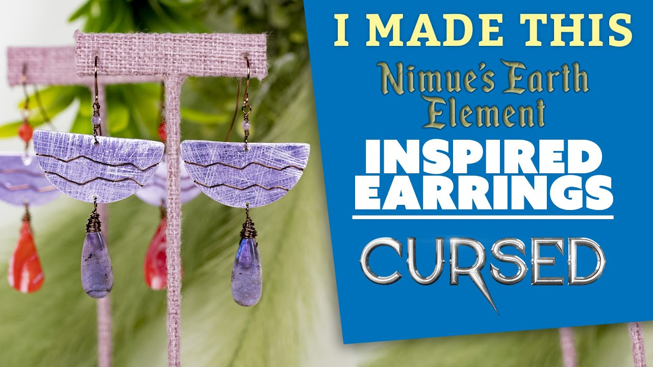 Cursed: Nimue's Earth Element Earrings | I Made This