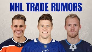 NHL Trade Rumors | Gardiner Destinations | Ehlers Trade? | Puljujarvi Update