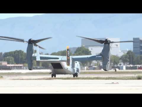 V-22 Osprey at NASA Ames Research Center 2014