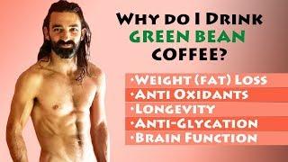 Is GREEN COFFEE BEAN healthy?  || weight loss, longevity, glycation, metabolism