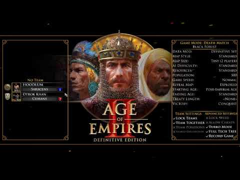 Age of Empires II: Definitive Edition 2019 - Death Match |