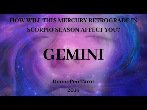 GEMINI - Sh!t's About To Go Down - November Mercury Retrograde Tarot Reading from YouTube · Duration:  25 minutes 38 seconds