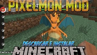 Minecraft 1.10.2/1.8/1.7.10/1.7.2 - Descargar E Instalar Pokemon MOD (Pixelmon Mod, Pokemons)