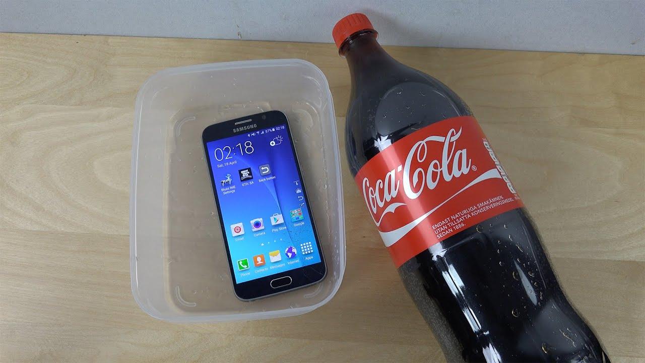 Samsung Galaxy S6 Coca-Cola - Test (4K)
