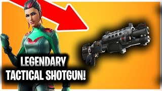 NEW *LEGENDARY* TACTICAL SHOTGUN! // 9.40 UPDATE // PATCH NOTES AND SKIN LEAKS // FORTNITE SEASON 9