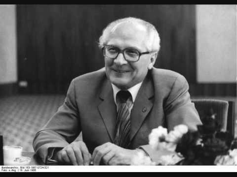 Homenaje a Erich Honecker