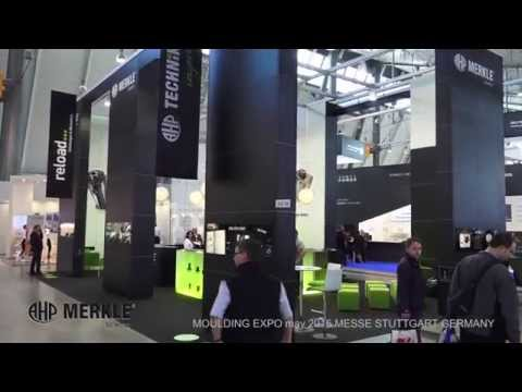 Video stand MERKLE - MOULDING EXPO 2015 MESSE STUTTGART.