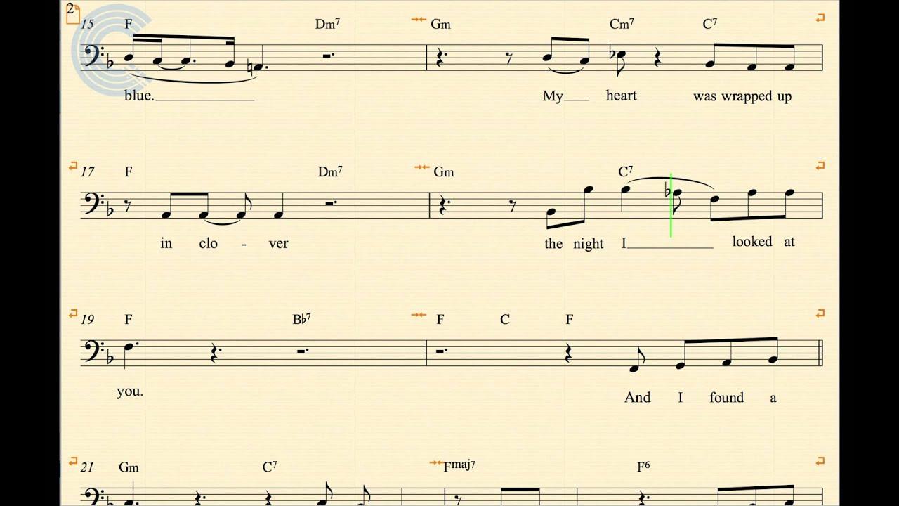 at last etta james sheet music pdf