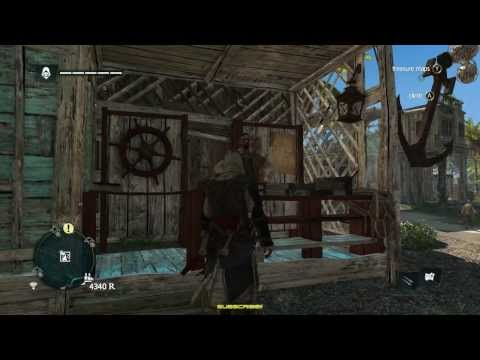 """Assassin's Creed IV Black Flag Ep.11 Nassau Contract """"The Pirate Captain""""  No Commentary, Xbox 360 """