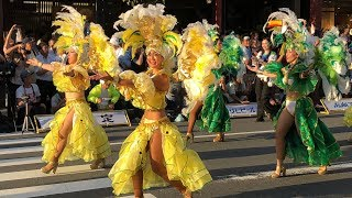 Asakusa celebrated the 37th Samba Carnival 2018 this weekend. Wow, ...