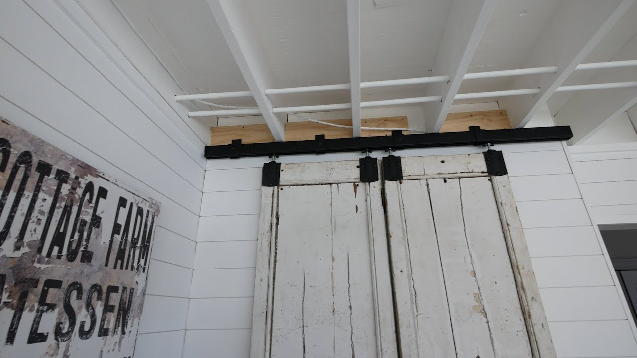 Choosing The Right Barn Door Hardware Youtube