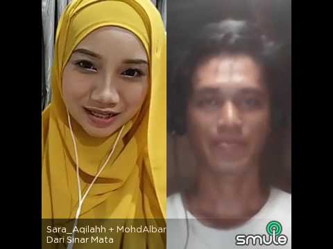 Dari sinar mata _ mohd Albar & Sara aqilahh