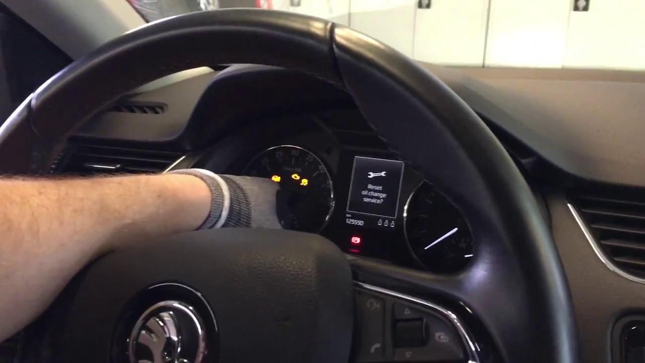 Škoda Octavia 3 - How to reset