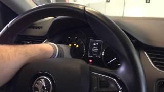 "Škoda Octavia 3 - How to reset ""Oil change now!"" message"