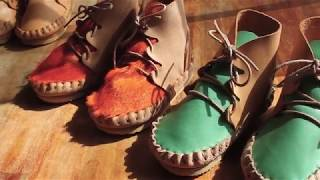 Handmade Leather Baby Boots 베이…