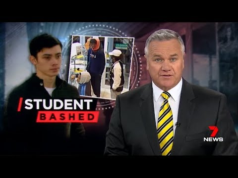 Nine + Seven News. Black Gang Targets Students.(Apex vs Asians)(Melb)