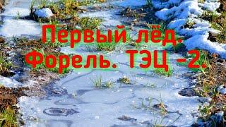 Рыбалка близ Алматы Первый лёд Форель ТЭЦ 2
