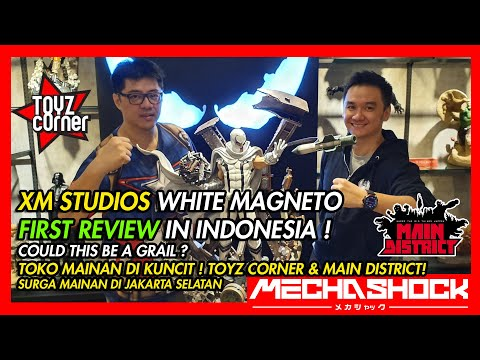 review-of-xm-studio-white-magneto-!-first-in-indonesia!-toys-shop-visit-in-jakarta-selatan-!