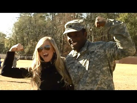 WWE Superstars and Divas visit Fort Benning in support of the troops