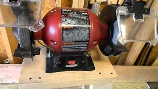 Scrap Wood Project - Bench Grinder Stand