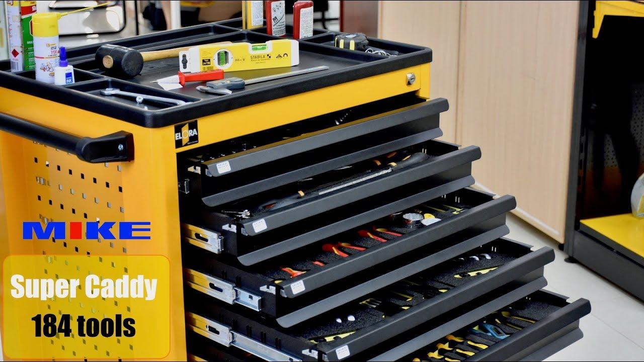 Super Caddy tủ đồ nghề 7 ngăn 184 chi tiết ELORA Germany