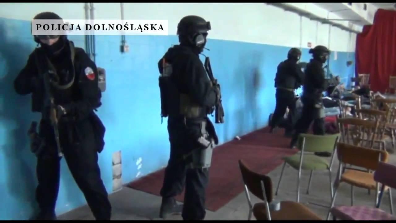 """Polska Policja - Ćwiczenia antyterrorystyczne """"Kryzys - 15"""""""