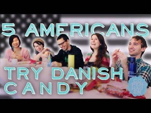 5 Americans Try Scandinavian Candy | Taste Test