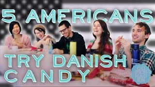 5 Americans Try Scandinavian Candy | Taste Test