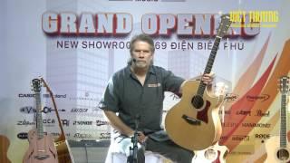 Taylor Guitar Kiến thức cơ bản đến nâng cao Việt Thương music p3