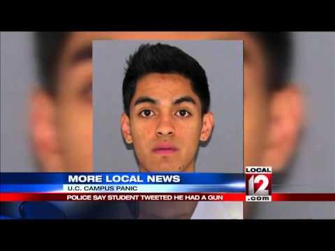 UC student jailed after tweet about gun