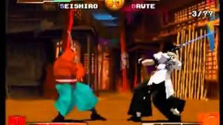 Gameplay: Samurai Shodown Warriors Rage (Playstation 1)
