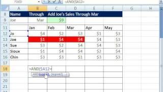Excel Magic Trick 424: Conditional Formatting For Dynamic Range