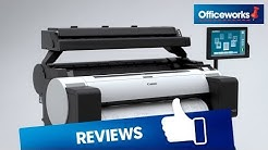 Canon Wide Format Printer with Scanner