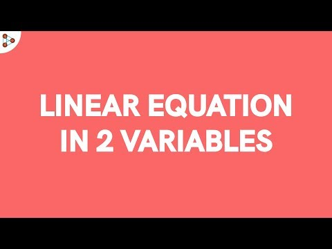 Linear Equations In 2 Variables - Review