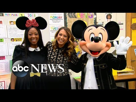 Willie Moore Jr. - WATCH! Teacher and Disney super-fan surprised with trip to Disney parks
