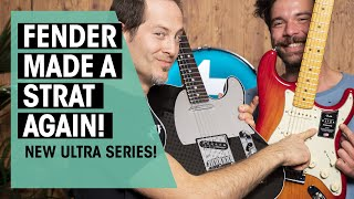 NEW Fender American Ultra vs. all US models | Elite, Original, Professional, Performer