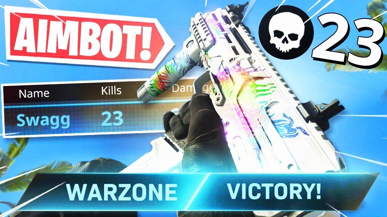 "the BEST ""MP7"" CLASS SETUP in WARZONE! IT'S LIKE AIMBOT! (Modern Warfare Warzone)"