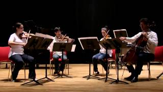 Earle Brown - String Quartet (Earle Brown Symposium)