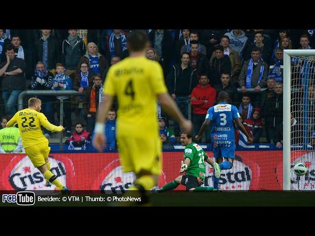 2012-2013 - Jupiler Pro League - PlayOff 1 - 05. Racing Genk - Club Brugge 0-2