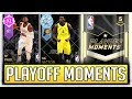 PLAYOFF MOMENTS PACK OPENING BATCH 1  TESTING THE ODDS  DIAMOND OLADIPO   NBA2K18 MYTEAM